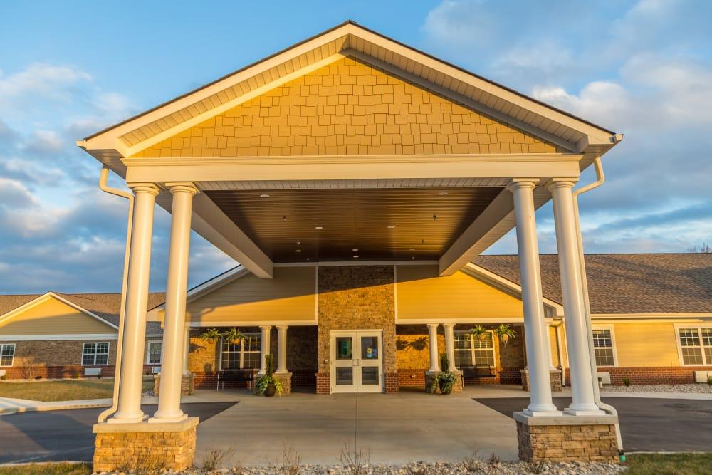 Entrance at The Willows at Fritz Farm in Lexington, Kentucky