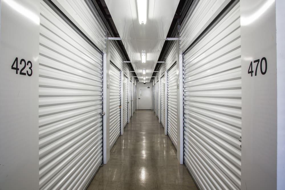 Indoor units at Metro Self Storage in Amarillo, Texas