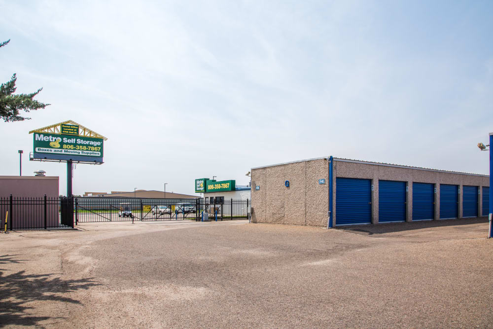 Exterior Units at Metro Self Storage in Amarillo, TX
