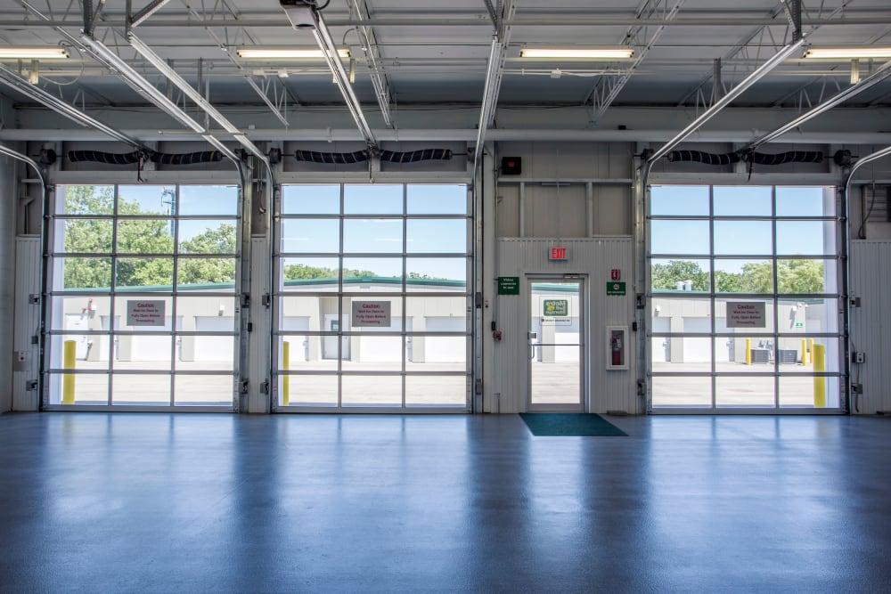 Transporting area at Metro Self Storage in Deerfield, Illinois