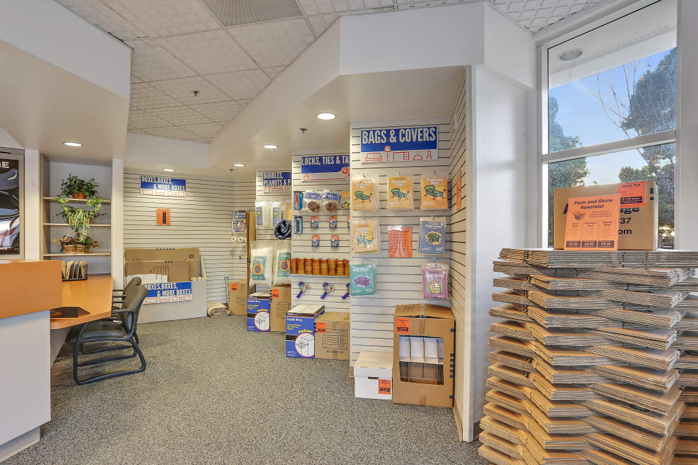 Packing and moving supplies available at A-1 Self Storage in Huntington Beach, California