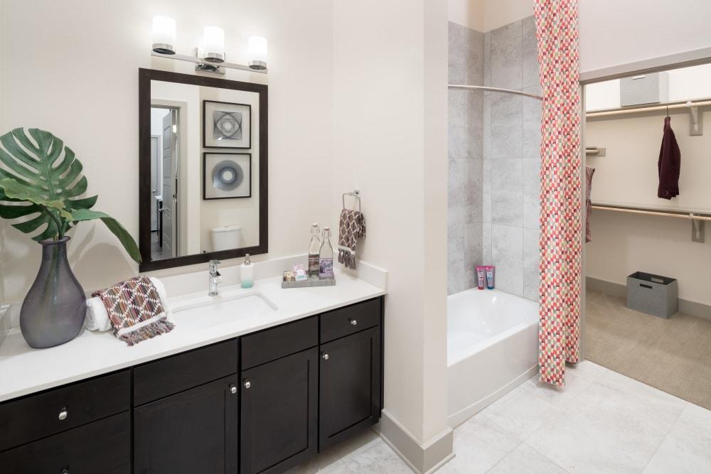 Alta Frisco Square offers a beautiful bathroom in Frisco, Texas