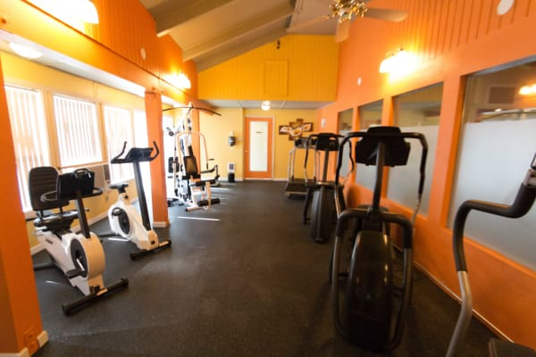 Fitness Center at Oakbrook Apartments in Vancouver, WA