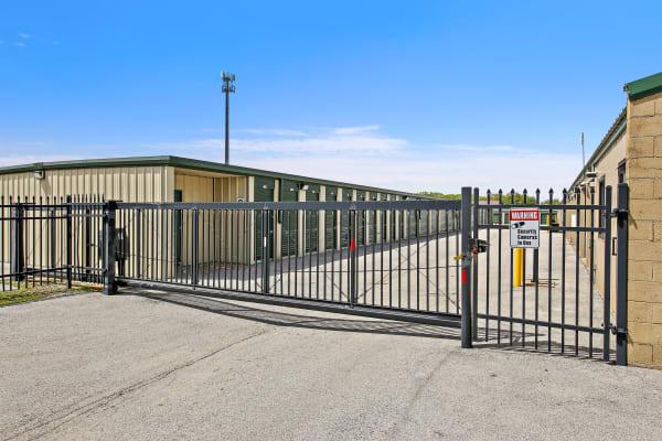 Vehicle storage at Global Self Storage in Merrillville, Indiana