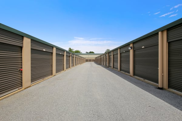 Vehicle storage at Global Self Storage in Sadsburyville, Pennsylvania