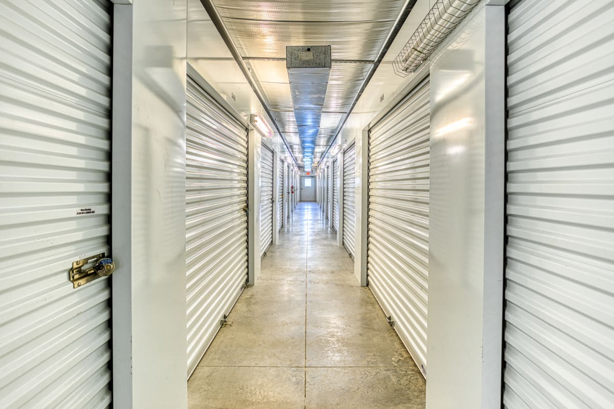 Climate-controlled storage units at Devon Self Storage in Spring, Texas