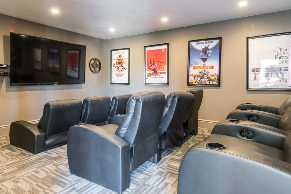 Theater Room at Aventerra at Dobson Ranch
