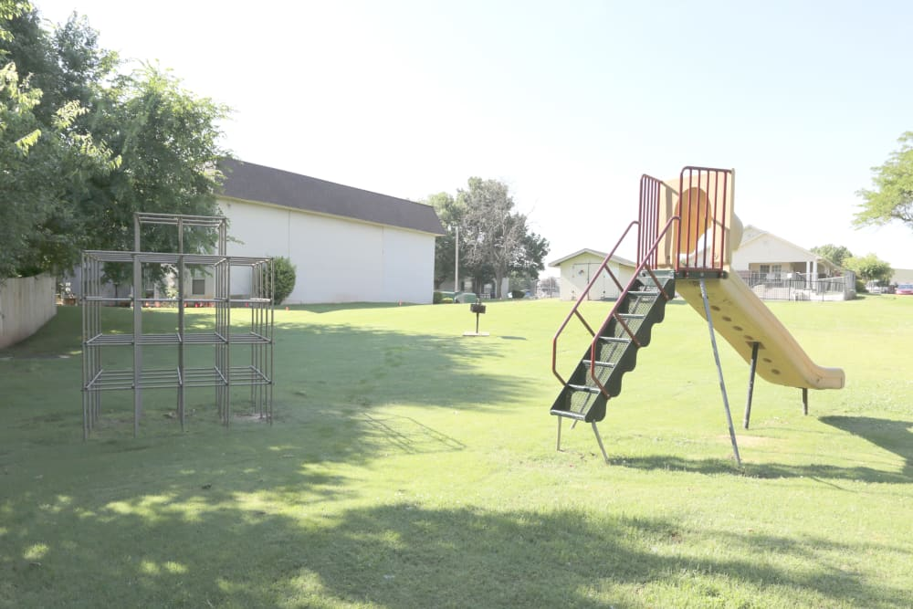 Playground at Garland Square in Norman, Oklahoma