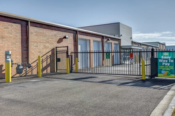 Sliding gate at Metro Self Storage