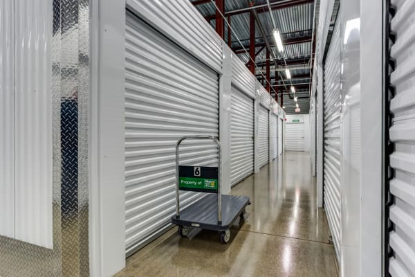 Metro Self Storage interior storage units in Buffalo Grove