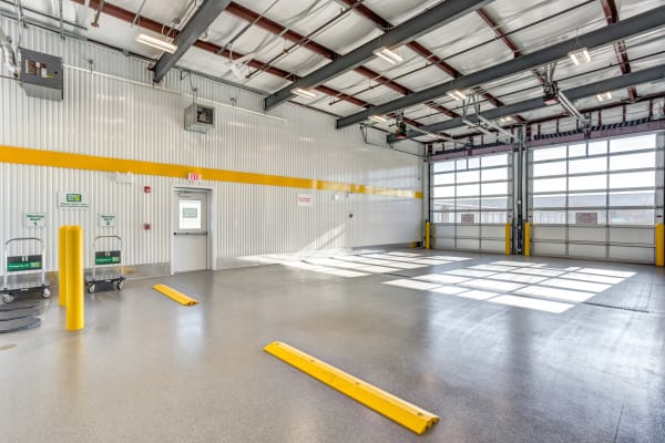Metro Self Storage in Naperville, Illinois large interior storage units