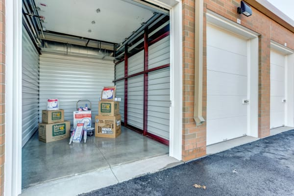 Metro Self Storage exterior storage units in Naperville