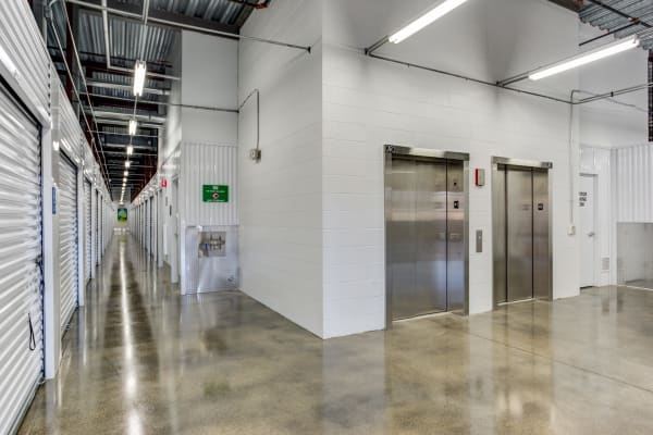 Metro Self Storage features interior storage units in Buffalo Grove, Illinois
