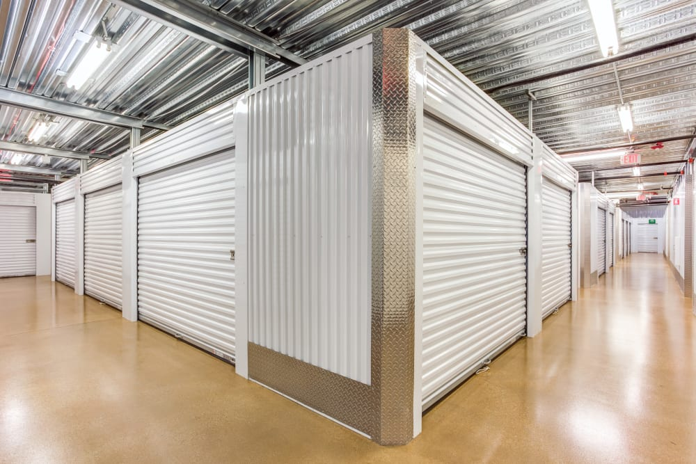 Indoor units at Metro Self Storage in Northbrook, Illinois