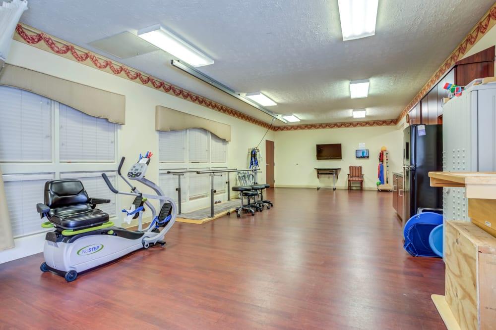 Fitness Center at Glen Ridge Health Campus in Louisville, Kentucky
