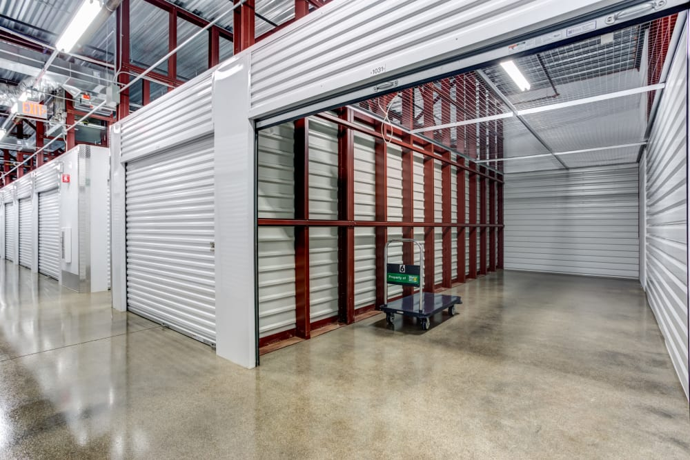 Buffalo Grove, Illinois storage facility interior storage units