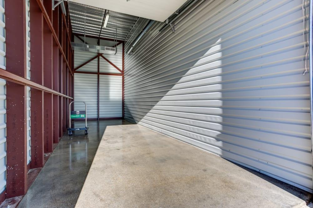 Metro Self Storage in Buffalo Grove, Illinois large interior storage units