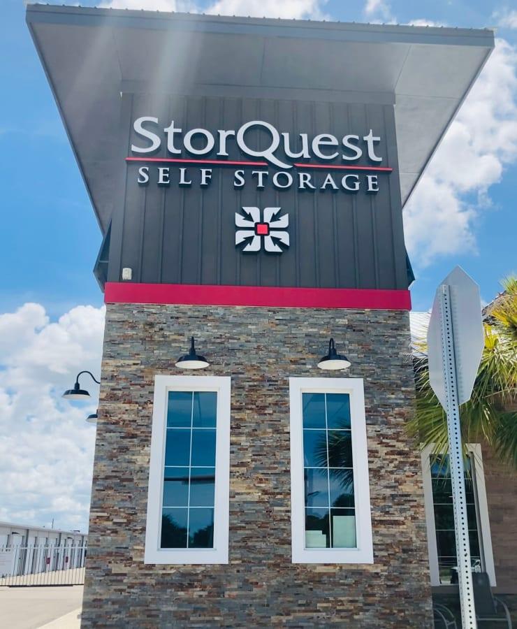 exterior of StorQuest Self Storage in Venice, Florida