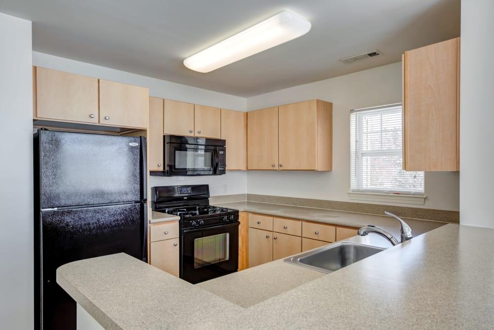 Spacious kitchen in Canton, Massachusetts