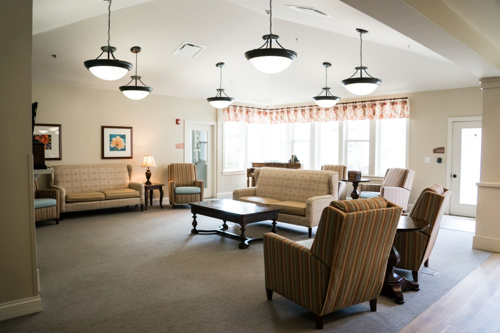 Our senior living community in Little Rock, Arkansas offer a dining area