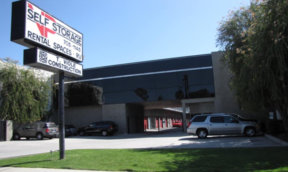 Storage street view at VP Self Storage in Tarzana, California