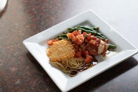 Delicious food at Talamore Senior Living, MN
