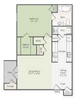 Printable floor plan 1 at Grand Biscayne