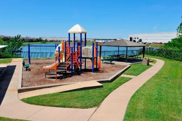 Playground at Crescent Cove at Lakepointe