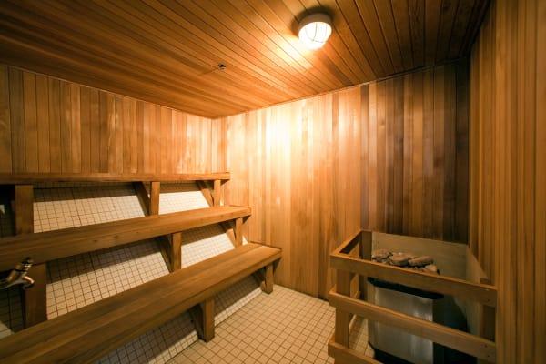 Sauna at Richmond Hill Apartments in Richmond Hill, Ontario