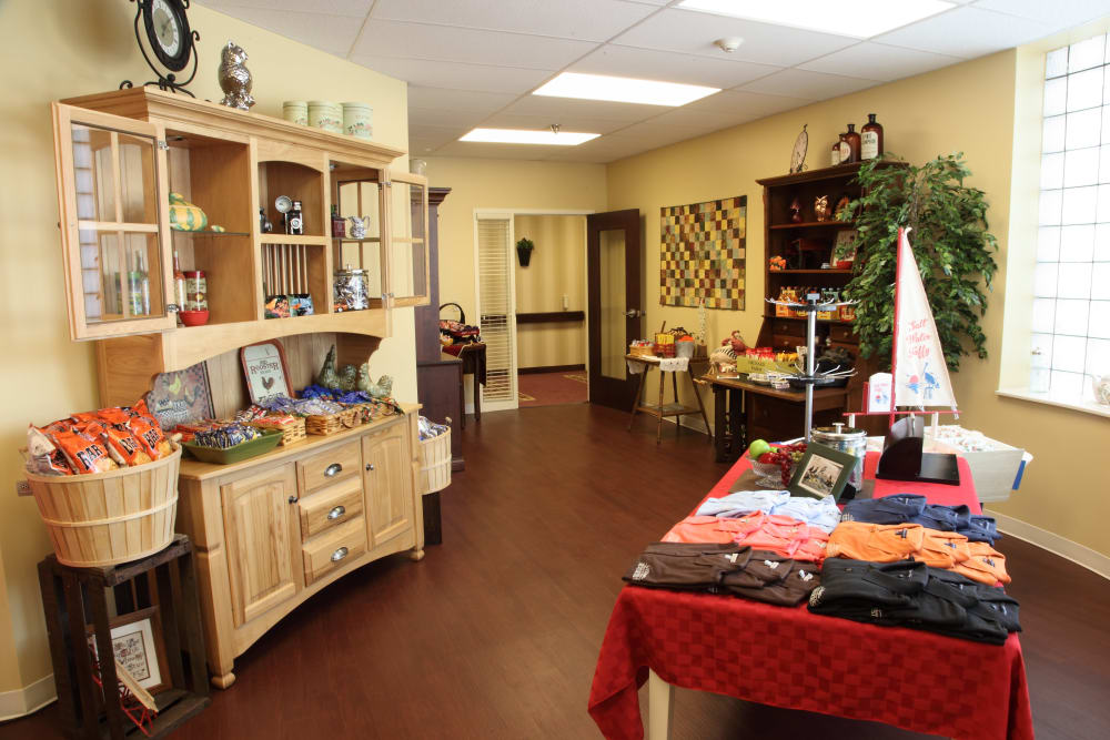 A community shop at The Villages at Historic Silvercrest in New Albany, Indiana