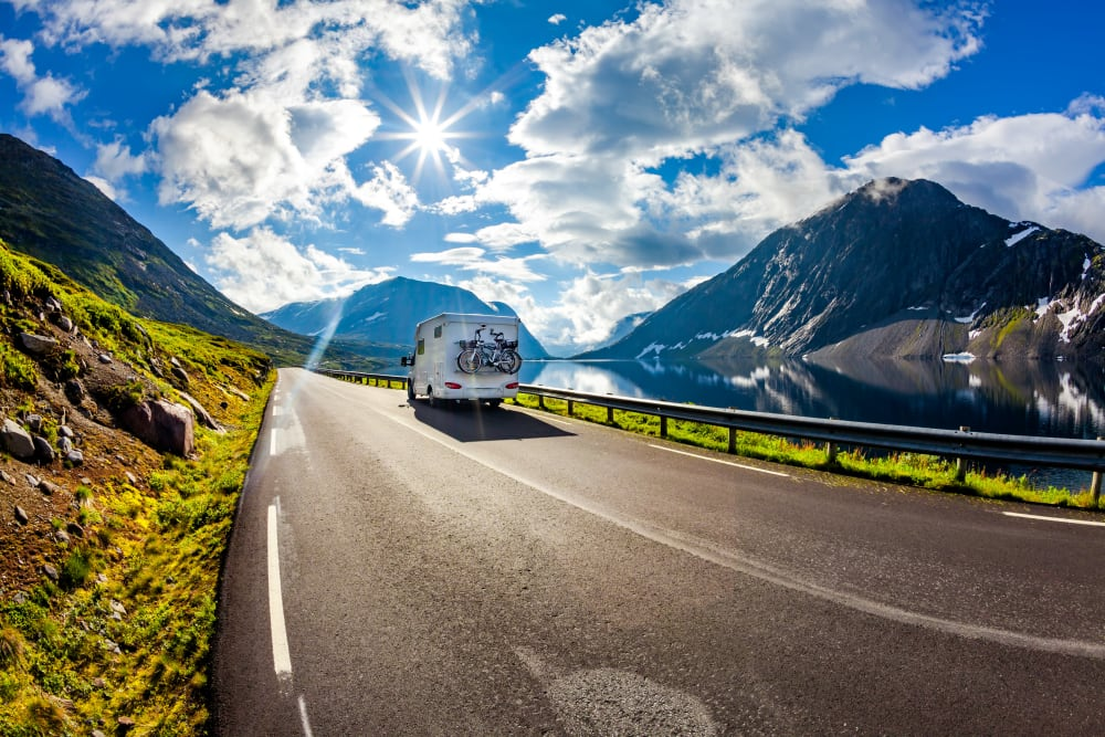 Customers of Comstock Covered RV Storage taking a trip into the mountains.