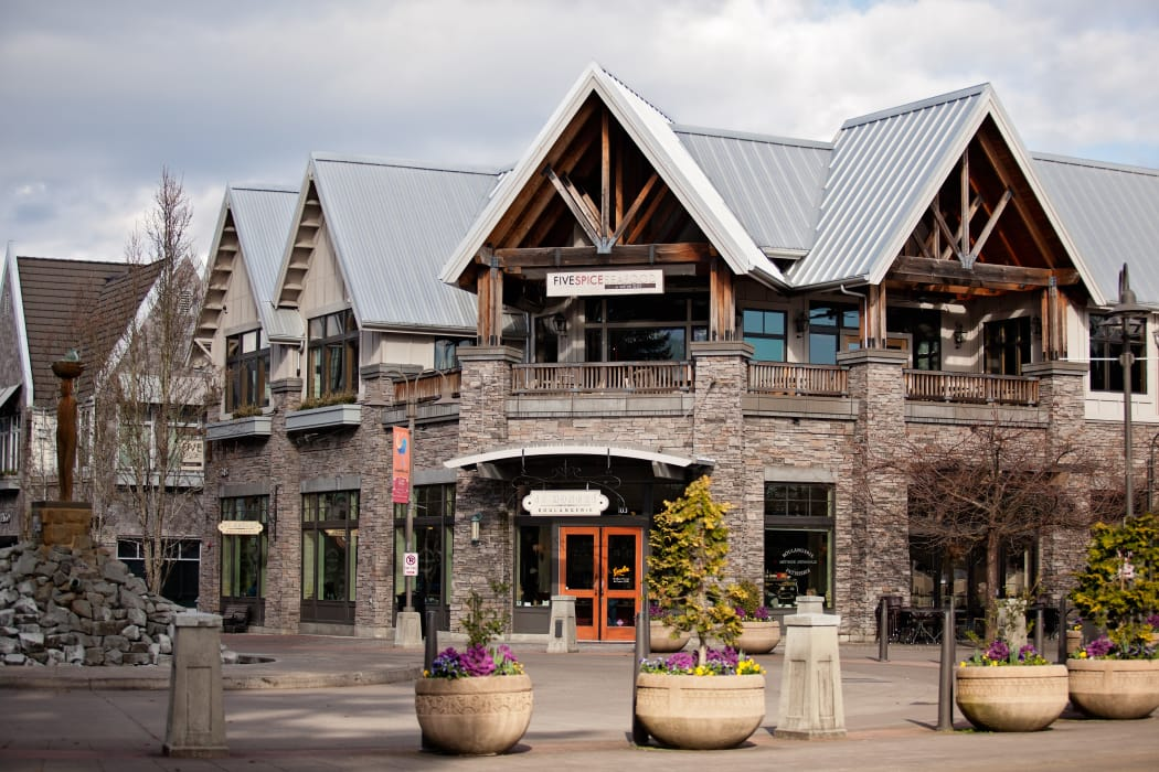 Shopping in downtown Lake Oswego