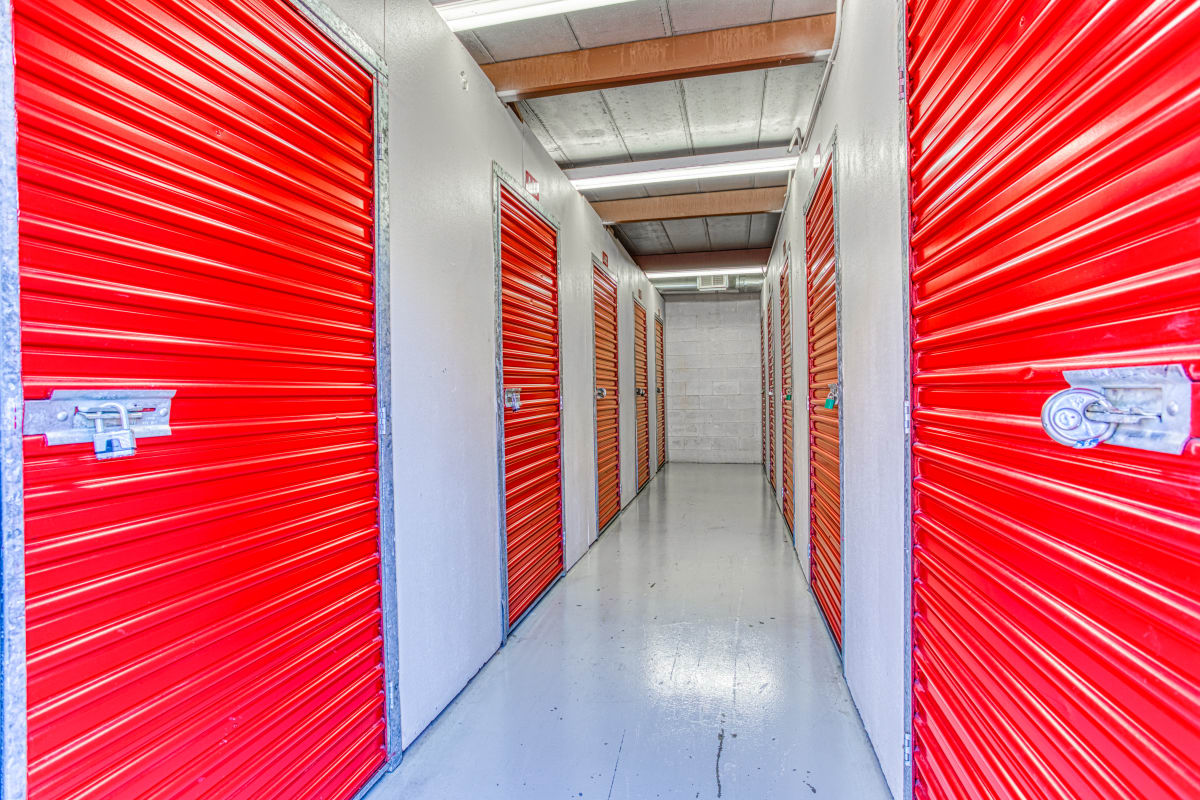 Climate-controlled storage at Devon Self Storage in Memphis, Tennessee