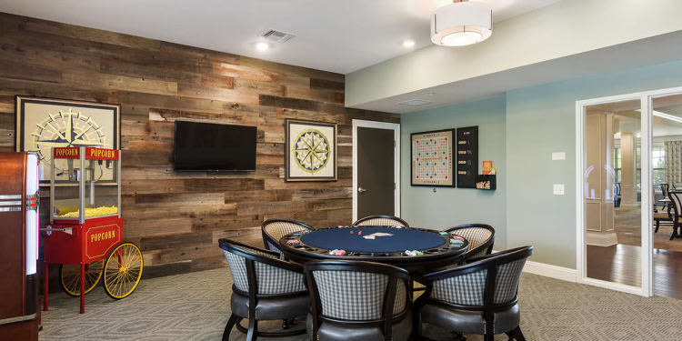 Activity room at Stonecrest of Rochester Hills in Rochester Hills, Michigan