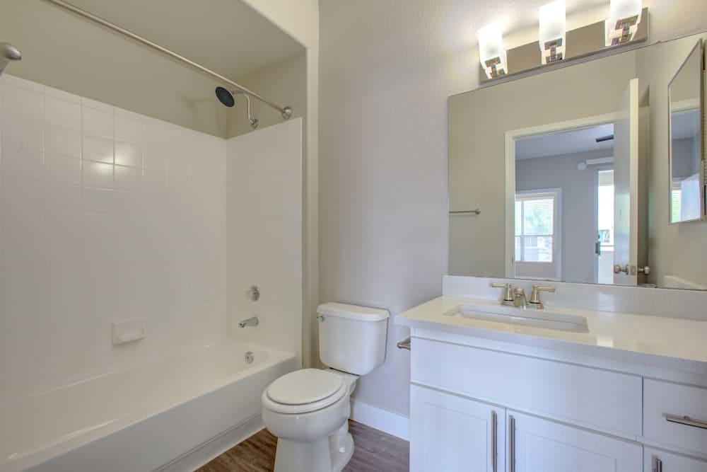 Bathroom at The Retreat Apartments in Phoenix, Arizona