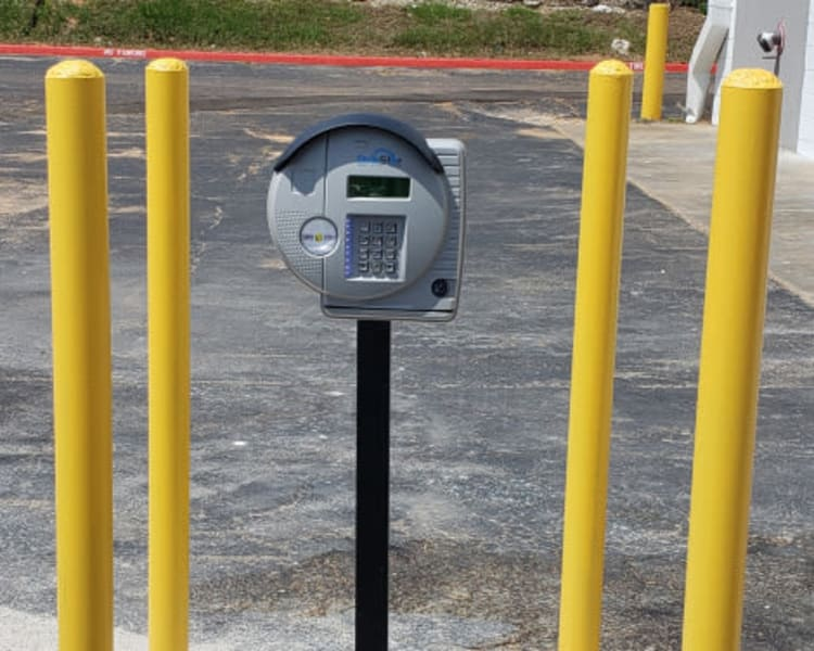 Security features at Simply Stor-It Mitchell in Mitchell, South Dakota