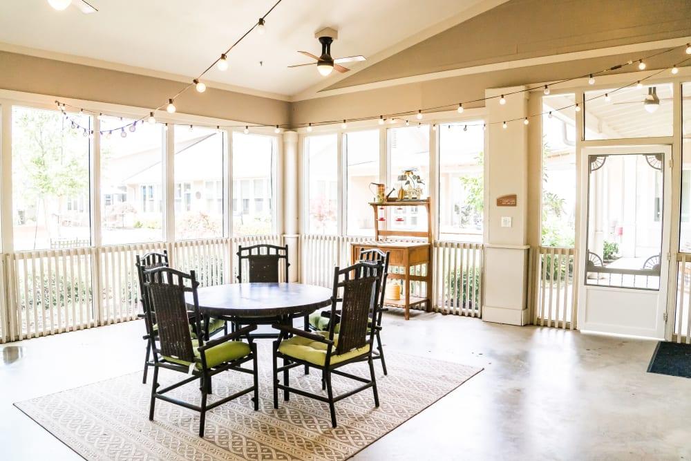 Avenir Memory Care at Little Rock offers a naturally well-lit center in Little Rock, Arkansas