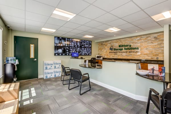 Front desk at Kittery Storage Solutions