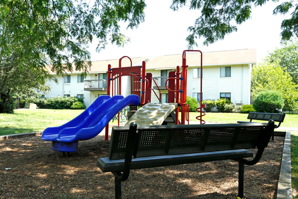 Playground at Quail Ridge Apartments in Plainsboro, NJ