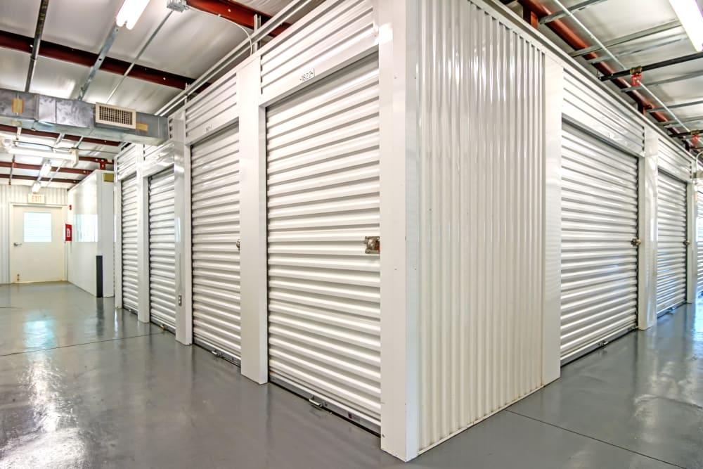 Indoor units at Metro Self Storage in Stockbridge, Georgia