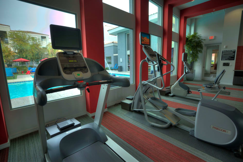 Treadmill at Avenue 25 Apartments