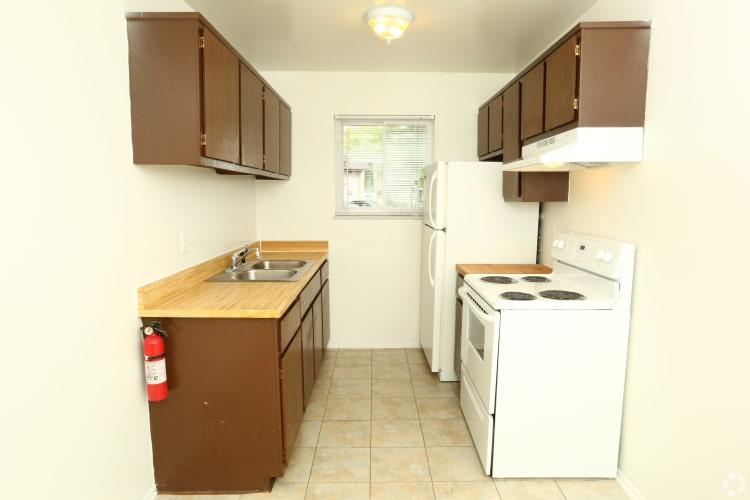 Birch Hill showcases a beautiful kitchen in Westland, Michigan