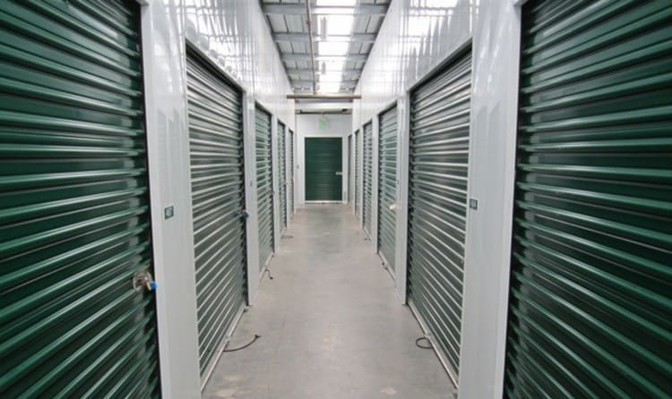 Indoor storage units at Acorn Self Storage - Brentwood in Brentwood, California