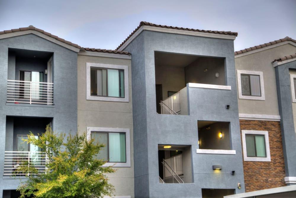 Exterior of apartments at Avenue 25 Apartments