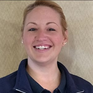 Melissa Riley, Housekeeping at Applewood Pointe of Champlin in Champlin, Minnesota
