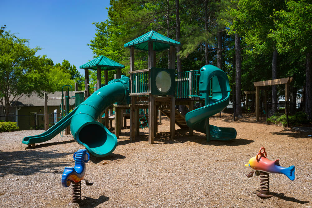 Onsite children's playground at The Vinings at Newnan Lakes in Newnan, Georgia