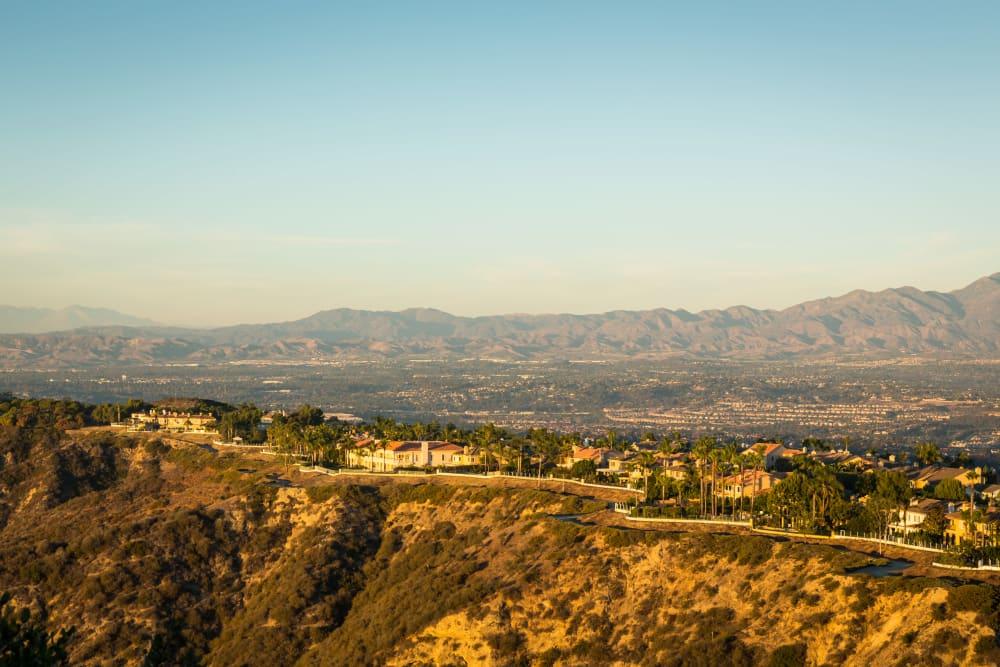 Aerial view of the property at Niguel Summit Condominium Rentals in Laguna Niguel, California