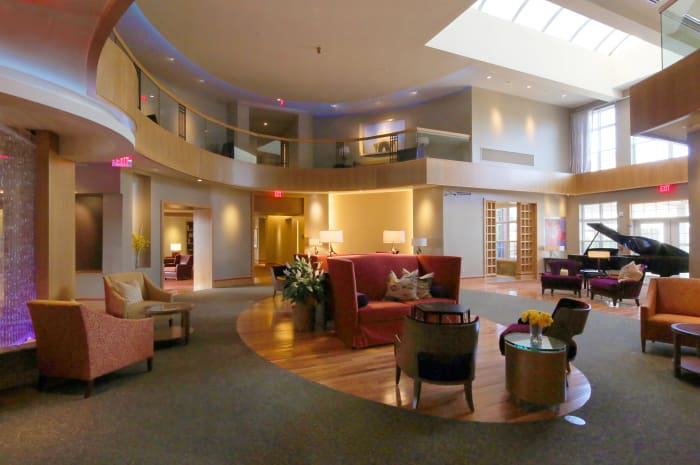 Main lounge area at All Seasons of West Bloomfield in West Bloomfield, Michigan