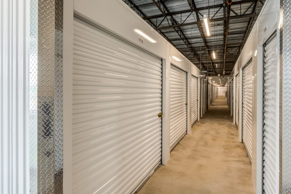 Interior units at Pearman Dairy Self Storage in Anderson, SC