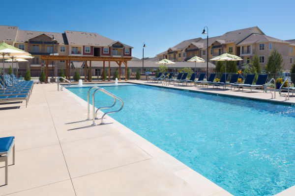 Swimming pool at Estates of Richardson